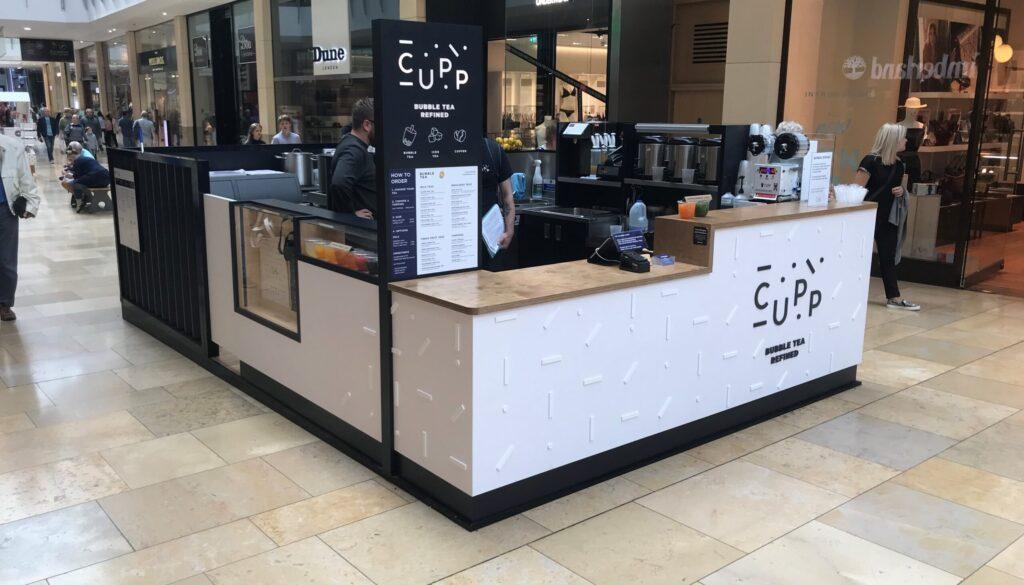 Pic 1 - Cupp Bubble Tea Kiosk