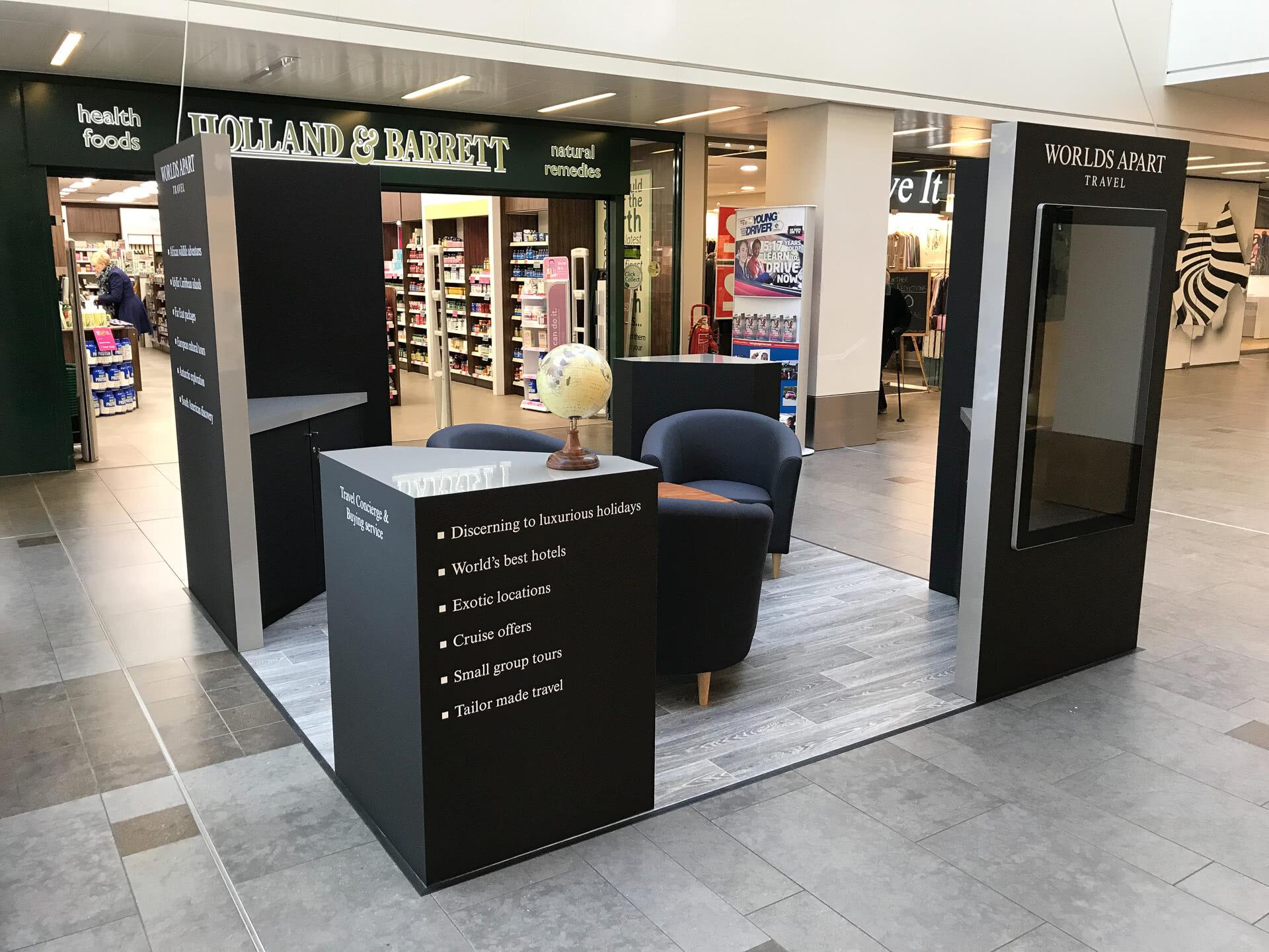 Worlds Apart Travel Kiosk Photo